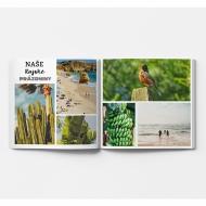 Měkká fotokniha Váš prázdninový projekt, 20x20 cm