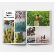 Měkká fotokniha Váš prázdninový projekt, 15x20 cm