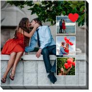 Obraz, Tvůj projekt láska, 30x30 cm
