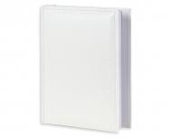 Fotoalbum Kožené bílé - 200 fotografií, 20x25 cm