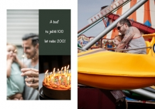 Fotokniha 40. narozeniny , 20x30 cm