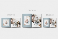 Měkká fotokniha Minimalistická, 20x30 cm