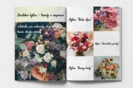 Měkká fotokniha Svatební kytice, 15x20 cm