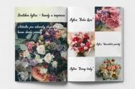 Měkká fotokniha Svatební kytice, 20x30 cm