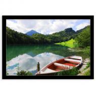 Plakát v rámu, Jezero, 30x20 cm