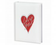 Fotoalbum Love you - 200 fotografií, 20x25 cm