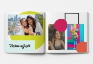 Měkká fotokniha Osmnáctiny, 20x20 cm