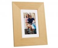 Fotorámeček Velká dřevěná, 17x22 cm