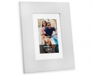 Fotorámeček Dřevěná bílá, 17x22 cm