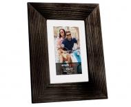 Fotorámeček Dřevěná černá, 17x22 cm
