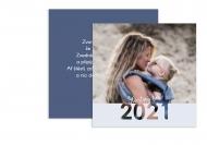 Fotopřání Šťastný rok 2021!, 14x14 cm