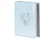 Fotoalbum Modré srdce - 300 fotografií, 20x25 cm