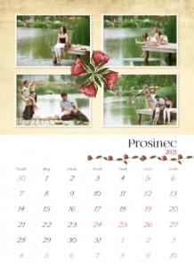 Kalendář, Vintage, 20x30 cm