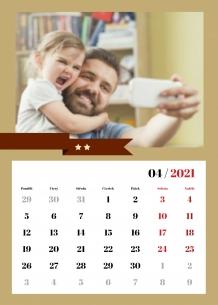 Kalendář, Pro tatínka, 20x30 cm