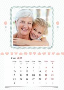 Kalendář, Milovaným prarodičům, 20x30 cm