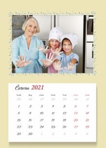 Kalendář, Nejlepší babička ve světě, 20x30 cm