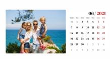 Kalendář, Chytej vzpomínky, 22x10 cm