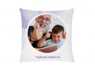 Polštářek, bavlna, Pro milovaného dědečka, 38x38 cm