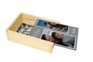 Dřevěná krabička, Naše rodina , 12x17 cm