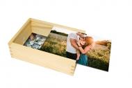 Dřevěná krabička, Váš projekt, 12x17 cm