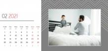 Kalendář, Váš kalendář pro každu příležitost, 22x10 cm