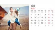 Kalendář, Váš kalendář lásky, 22x10 cm