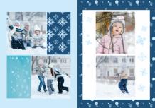 Fotokniha Vzpomínky na mrazivou zimu, 20x30 cm