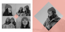 Fotokniha Friends, 20x20 cm