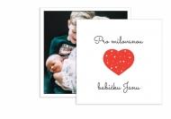 Fotopřání Pro milovanou babičku, 14x14 cm