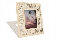 Dřevěné fotorámečky Listy monstery, 18x22 cm