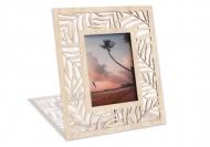 Dřevěné fotorámečky Palmové listy, 18x22 cm