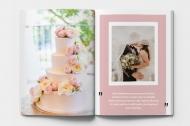 Měkká fotokniha Děkujeme svatebním hostům , 15x20 cm