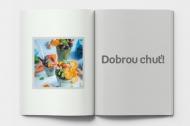 Měkká fotokniha Menu restaurace, 20x30 cm