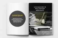 Měkká fotokniha  Katalog marketingové agentury, 15x20 cm