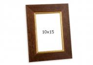 Fotorámeček Retro hnedá, 10x15 cm