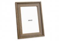 Fotorámeček Hnědý malovaný, 10x15 cm