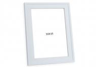 Fotorámeček Bílý s okrajem, 10x15 cm