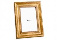 Fotorámeček Dekorativní zlatý, 10x15 cm