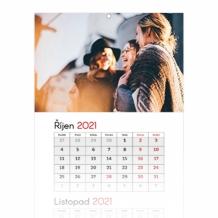 Tříměsíční kalendář, Váš projekt, 30x85