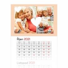 Tříměsíční kalendář, Pro milovanou babičku, 30x85
