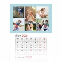 Tříměsíční kalendář, Nejkrásnější chvíle, 30x85