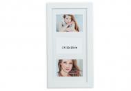 Fotorámeček Pro 3 fotografie bílý, 20x42 cm