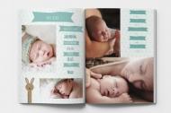 Měkká fotokniha První rok miminka, 20x30 cm