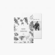 Fotopřání Christmas forest, 15x20 cm