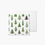Fotopřání Doodle Trees, 14x14 cm