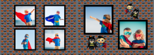 Fotokniha Malý superhrdina, 30x20 cm