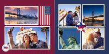 Fotokniha Dovolená v USA, 30x30 cm