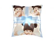 Polštářek, bavlna, Polštářek pro drobečka, 25x25 cm
