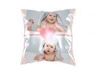 Polštářek, bavlna, Roztomilé miminko, 25x25 cm