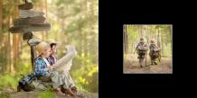 Fotokniha Váš kontrastní projekt, 20x20 cm
